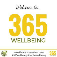#365wellbeing launches today! 1 #toptip per day for the year! #teacherwellbeing Thank you @KathrynLovewell