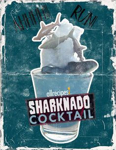 Sharknado Cocktail | It's jawesome.
