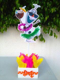 Disney Frozen Birthday Olaf decoration by uniqueboutiquebygami