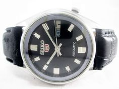 VINTAGE GENTS SEIKO AUTOMATIC DAY-DATE 21 JEWELS MENS WRIST WATCH RUN ORDER #SEIKO #Casual