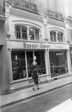 Magasin Benoit-Guyot, rue Emile Zola à  LYON en 1961