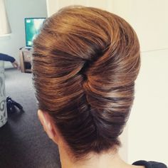 Sleek Smooth French Roll by Jennifer Thomson Hair