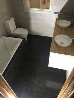 Williamstown bathroom renovation #bathroom #bathroomrenovation #vanity #bath Bathroom Renovations Melbourne, Tile Floor, Pergola, Vanity, Flooring, Dressing Tables, Powder Room, Outdoor Pergola, Vanity Set