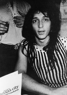 Johnny Thunders by Anton Perich; at Max's Kansas City, NYC, in Anton, Johnny Thunders, 70s Punk, Johnny Was, Embedded Image Permalink, Rock N Roll, Nyc, New York, Memories