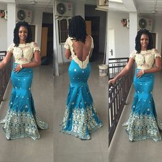 Just In Time! Stunning, Glamorous & Breathtakingly Beautiful Aso Ebi Styles - Wedding Digest Naija