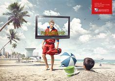 Llega el verano y la publicidad se va la playa: 50 ejemplos creativos - Marketing Directo