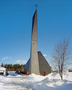 Kuokkala Church / Lassila Hirvilammi - Jyväskyla, Finland