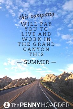 Looking for seasonal or summer jobs? TWO organizations in the Grand Canyon are still hiring -- and you could make $13 an hour. - The Penny Hoarder http://www.thepennyhoarder.com/grand-canyon-summer-jobs/