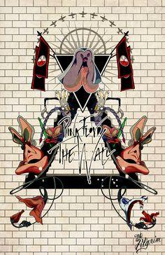 Pink Floyd's The Wall par ThePilgrimBoutique sur Etsy