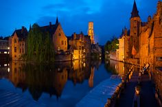 Brugge, Belgium  this site has amazing photos from all over the world and the photographer is very talented!