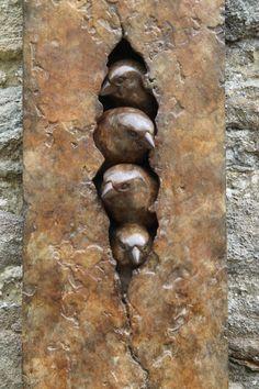 Most recent Pictures pottery handmade sculpture Popular Bronze Sparrow Clay Birds, Ceramic Birds, Ceramic Animals, Ceramic Pottery, Ceramic Art, Sculptures Céramiques, Art Sculpture, Pottery Sculpture, Bronze Sculpture