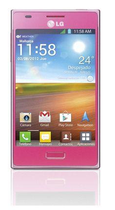 Edición limitada en rosa del LG Optimus L5 http://blogs.elperiodico.com/masdigital/mas-articulos/edicion-limitada-rosa-lg-optimus-l5
