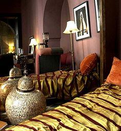 Marokko Makuuhuoneen tyyli sisustus Sisustus Inspiration