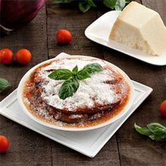 Easy Eggplant Parmigiana