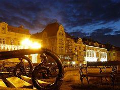Dome square @ night - in Timisoara. Homeland, Romania, Exotic, Louvre, Classy, Spaces, Night, Building, Amazing