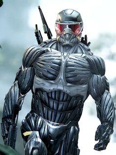 ผลการค้นหารูปภาพสำหรับ nanosuit exoskeleton