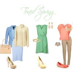 """""""Toned spring looks"""" by sabira-amira on Polyvore"""