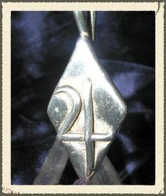 Jupiter Planetary Silver Pendant Alchemy Tin Symbol NorseWarlock9 Jewelry 227J