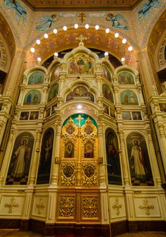 Holy Trinity Russian Orthodox Cathedral (1903 by Louis Sullivan) Louis Sullivan designed just two houses of worship in his entire career. The only one still intact is Holy Trinity Russian Orthodox Cathedral in Chicago.