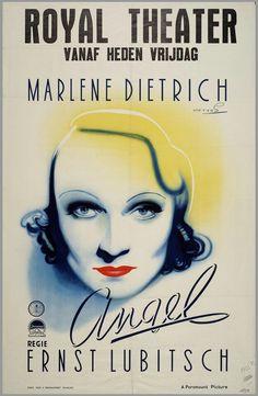 Voor de film Angel 1937