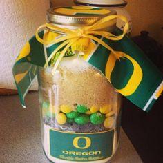 Oregon Ducks & Oregon Beavers Mason Jar Cookie Mixes by FabRustic