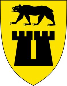 Municipality of Sarpsborg - County: Østfold (Norway) Adm Centre: Sarpsborg, Ext Km² British Football, City Logo, Ferrari Logo, Crests, Coat Of Arms, Norway, Carving, Symbols, Logos