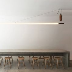 """Canadian architecture studio Scott & Scott has designed the interior for a pan-Asian restaurant in Vancouver, using materials that will """"wear-in with use"""""""