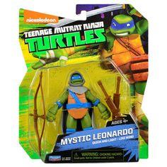 Mystic Leonardo Vision Quest Teenage Mutant Ninja Turtles TMNT Action Figure