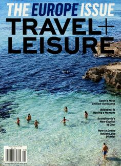 Spain's most chilled-out Island #Cover #MagazineCover Gefunden in: TRAVEL + LEISURE, Nr. 5/2016