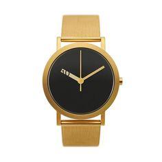 Normale Uhren - Extra Normale Grande - Gold Netz