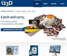 технология по автоматическому созданию 3D моделей из ваших фотоархивов  http://www.123Dapp.com/catch