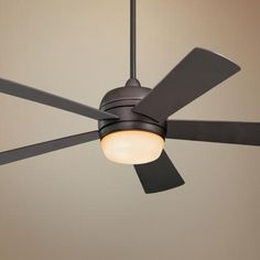 "52"" Emerson Atomical Oil Rubbed Bronze Ceiling Fan - #30738-30743 