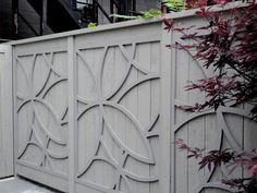 See innovative approaches and non-traditional takes on the classic wooden fence.