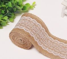 Hey, I found this really awesome Etsy listing at https://www.etsy.com/listing/259273299/5-yards-6cm25-burlap-lace-ribbon-trim