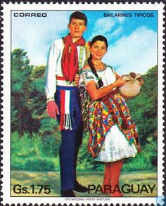Postage Stamps - Paraguay - Folklore