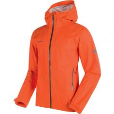 Mammut Mellow outdoor jack heren dark orange De Wit Schijndel