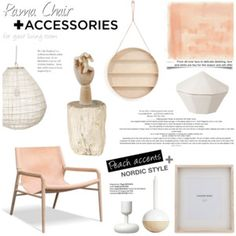 Rama Chair + Accessories for your living room