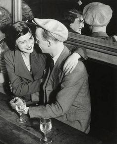 Brassai: Couple in a cafe