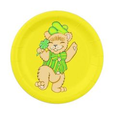 Our adorable little Irish bear with his shamrock is sure to be a hit at any St. Patrick's Day party this year.