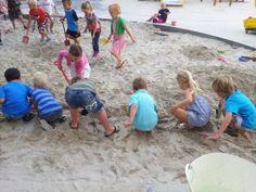 Water in de zandbak (en waarom je dat een keer gedaan moet hebben)