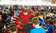 Elaborate LEGO creations spin, whirl, roll, click, and amaze, showcasing the beauty of imagination and the power of June 18-19