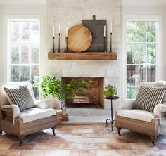 Episode 11 Season 5 HGTV's Fixer Upper Chip & Jo Gaines is part of Farm house living room - Dreaming of France after seeing episode 11 of Fixer Upper View photos from the episode and learn how to incorporate French chateau design in your own home Casas Magnolia, Fixer Upper Living Room, Fixer Upper Bedrooms, Morrison Homes, Sunroom Decorating, Decorating Ideas, Sunroom Ideas, Decor Ideas, Style Deco