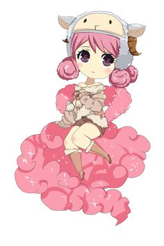 Fairy Tail: Aries - The White Lamb [Chibi] by tsukiko12099 on ...