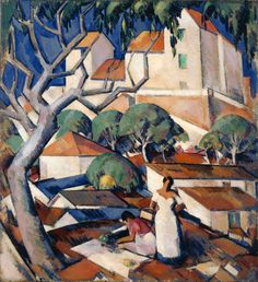 John Duncan Fergusson, Christmas Time in the South of France, 1922, Oil on canvas, |The Fergusson Gallery, Perth & Kinross Council, purchased with the assistance of the Heritage Lottery Fund (1998), © The Fergusson Gallery, Perth & Kinross Council, Scotland