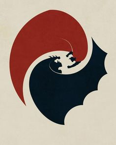 Energetic Fan-Made Poster Designs for Marvel and DC Movies — GeekTyrant Batman Vs Superman, Batman Sign, Superman Tattoos, Batman Tattoo, Superhero City, Superhero Movies, Epic Drawings, Cartoon Drawings, Yin Yang Art
