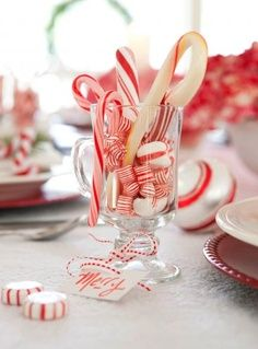 Centerpieces for advent on pinterest christmas wedding for Quick and inexpensive wedding decorations