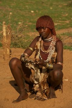 Safarious - Ethiopia, Omo Valley, Hamar Tribe / Michael Lorentz / Gallery