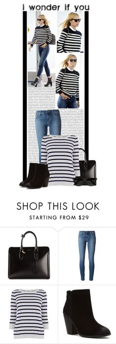 """""""#1244 (Gwyneth Paltrow)"""" by lauren1993 ❤ liked on Polyvore featuring Oris, JFK, Alexander McQueen, J Brand, Oasis, Report, Ray-Ban, women's clothing, women and female"""