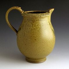 Pottery Handmade Wheel Thrown Stoneware 2 Quart by baumanstoneware, $78.00