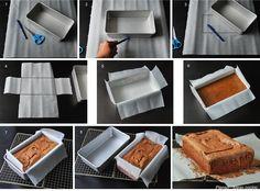 Forrar moldes (II) - Pienso...luego cocino
